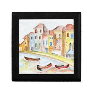 Concepto de Venecia Cajas De Recuerdo