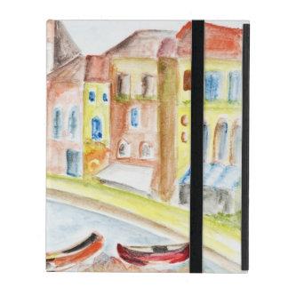 Concepto de Venecia Funda Para iPad