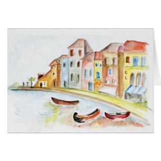 Concepto de Venecia Felicitaciones