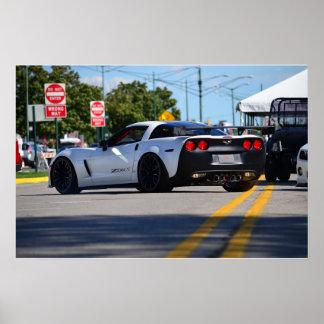 Concepto del Corvette C6 Z06X Poster