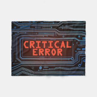 Concepto del error crítico manta polar