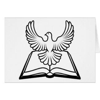 Concepto del Espíritu Santo de la biblia Felicitacion