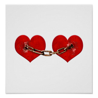 Concepto irrompible del amor póster