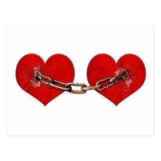 Concepto irrompible del amor postal