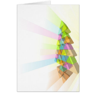 Concepto moderno del árbol de navidad felicitaciones
