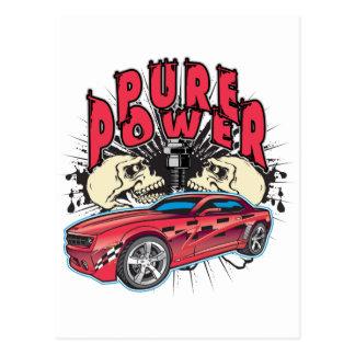 Concepto puro de Camaro del poder Postal