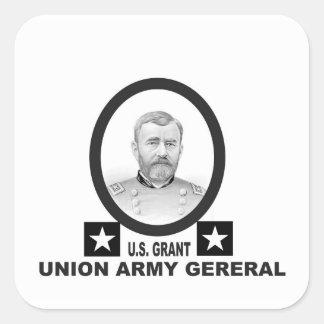 concesión general de los E.E.U.U. del Ejército de Pegatina Cuadrada