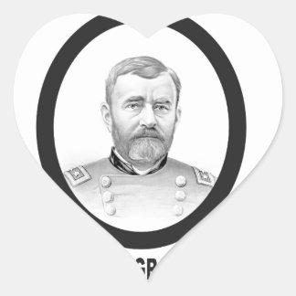 concesión general de los E.E.U.U. del Ejército de Pegatina En Forma De Corazón