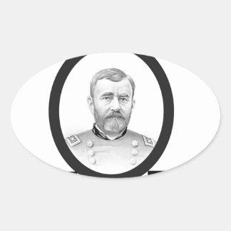 concesión general de los E.E.U.U. del Ejército de Pegatina Ovalada