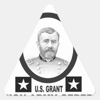 concesión general de los E.E.U.U. del Ejército de Pegatina Triangular