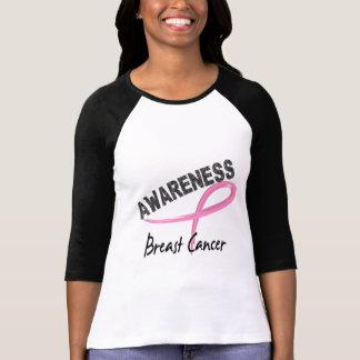Conciencia 3 del cáncer de pecho camiseta