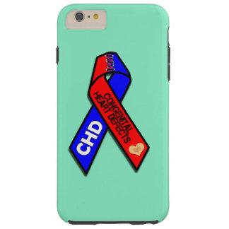 Conciencia congénita de la enfermedad cardíaca funda resistente iPhone 6 plus