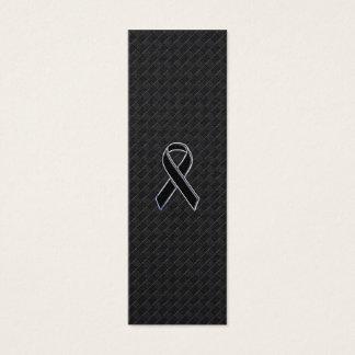 Conciencia de la cinta del negro del estilo del tarjeta de visita pequeña