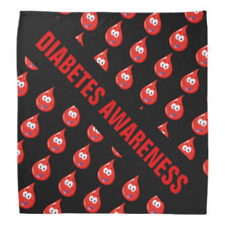 Conciencia de la diabetes bandana