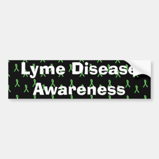 Conciencia de la enfermedad de Lyme con las cintas Pegatina Para Coche