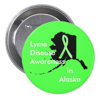 Conciencia de la enfermedad de Lyme en el botón de