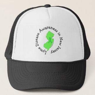 Conciencia de la enfermedad de Lyme en gorra de la