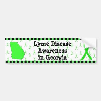 Conciencia de la enfermedad de Lyme en la pegatina