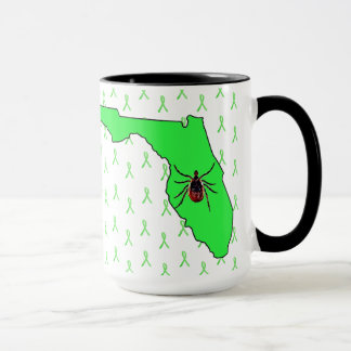 Conciencia de la enfermedad de Lyme en taza de
