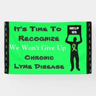 Conciencia de la enfermedad de Lyme no daremos Lona