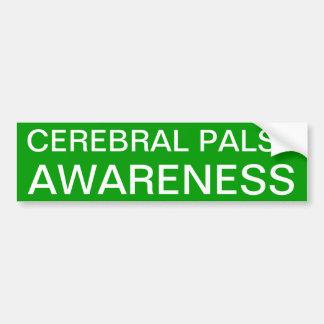 Conciencia de la parálisis cerebral pegatina para coche