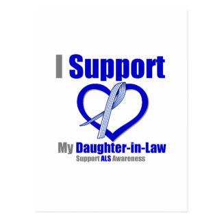 Conciencia del ALS apoyo a mi nuera Postal