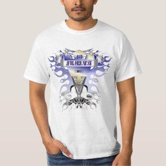 conciencia del asd camiseta