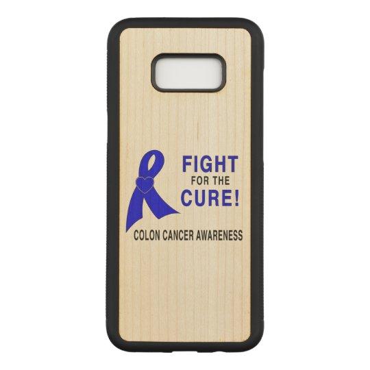 Conciencia del cáncer de colon: ¡Lucha para la Funda Para Samsung Galaxy S8+ De Carved