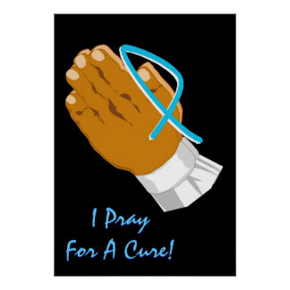 Conciencia del cáncer de próstata que ruego para u posters