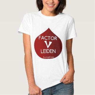 Conciencia del factor V Leiden Camisetas