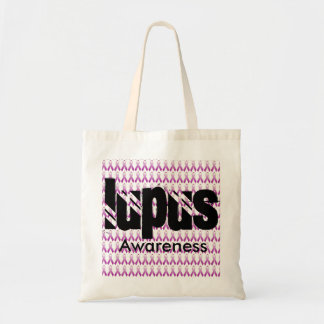 Conciencia del lupus bolso de tela