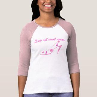Conciencia rosada del cáncer de pecho camiseta