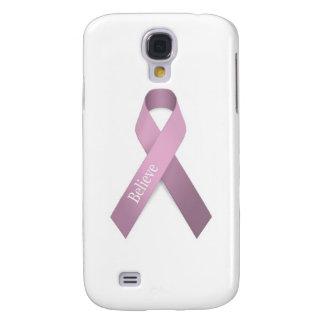 Conciencia rosada del cáncer de pecho de la cinta samsung galaxy s4 cover
