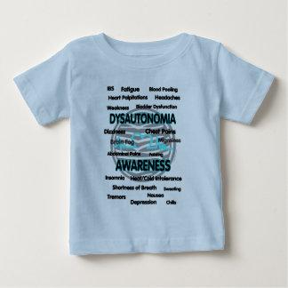 Conciencia/síntomas… Dysautonomia Camiseta De Bebé