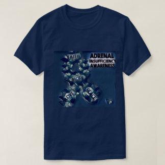 Conciencia suprarrenal de la escasez camiseta