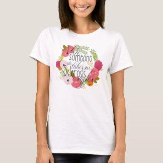 Conciencia tuberosa de la esclerosis camiseta