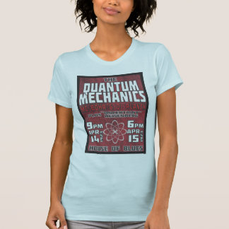 Concierto de Quantum de la mujer Camiseta