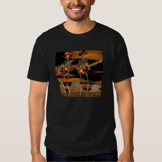 Concierto del esqueleto de Halloween Camiseta