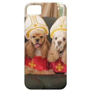 Cónclave santo del perro funda para iPhone SE/5/5s