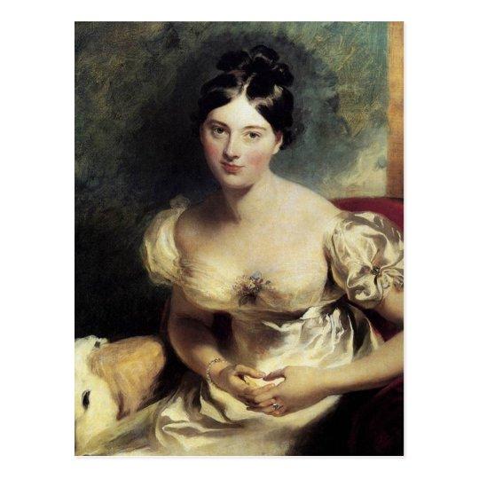 Condesa de Maguerite de Blessington Postal
