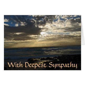 Condolencia para la pérdida de madre tarjeta