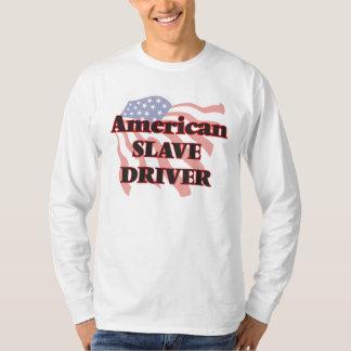 Conductor auxiliar americano camisas