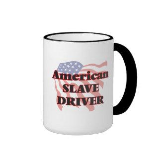Conductor auxiliar americano taza a dos colores