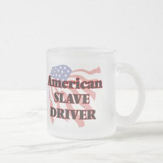 Conductor auxiliar americano taza de cristal