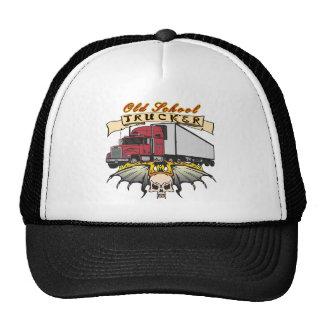 Conductor de camión de la escuela vieja gorras