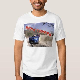 Conductor de coche de carreras de Tyler Camisas