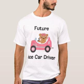 Conductor de coche de carreras futuro (chica) camiseta
