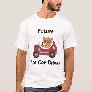 Conductor de coche de carreras futuro (muchacho) camiseta