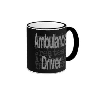 Conductor de la ambulancia Extraordinaire Taza De Dos Colores