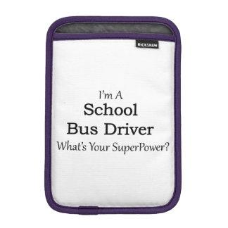 Conductor del autobús escolar funda para iPad mini